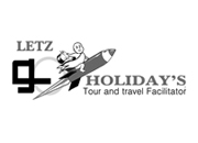 Website for Letz Go Holidays. A tour and travel company, Delhi