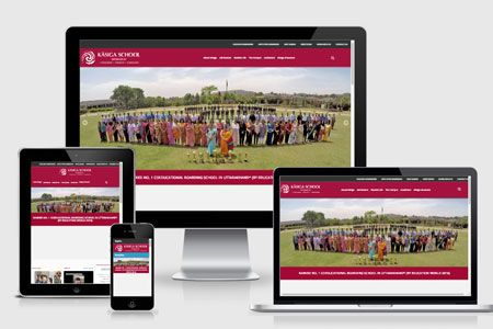 kasiga school responsive screenshot